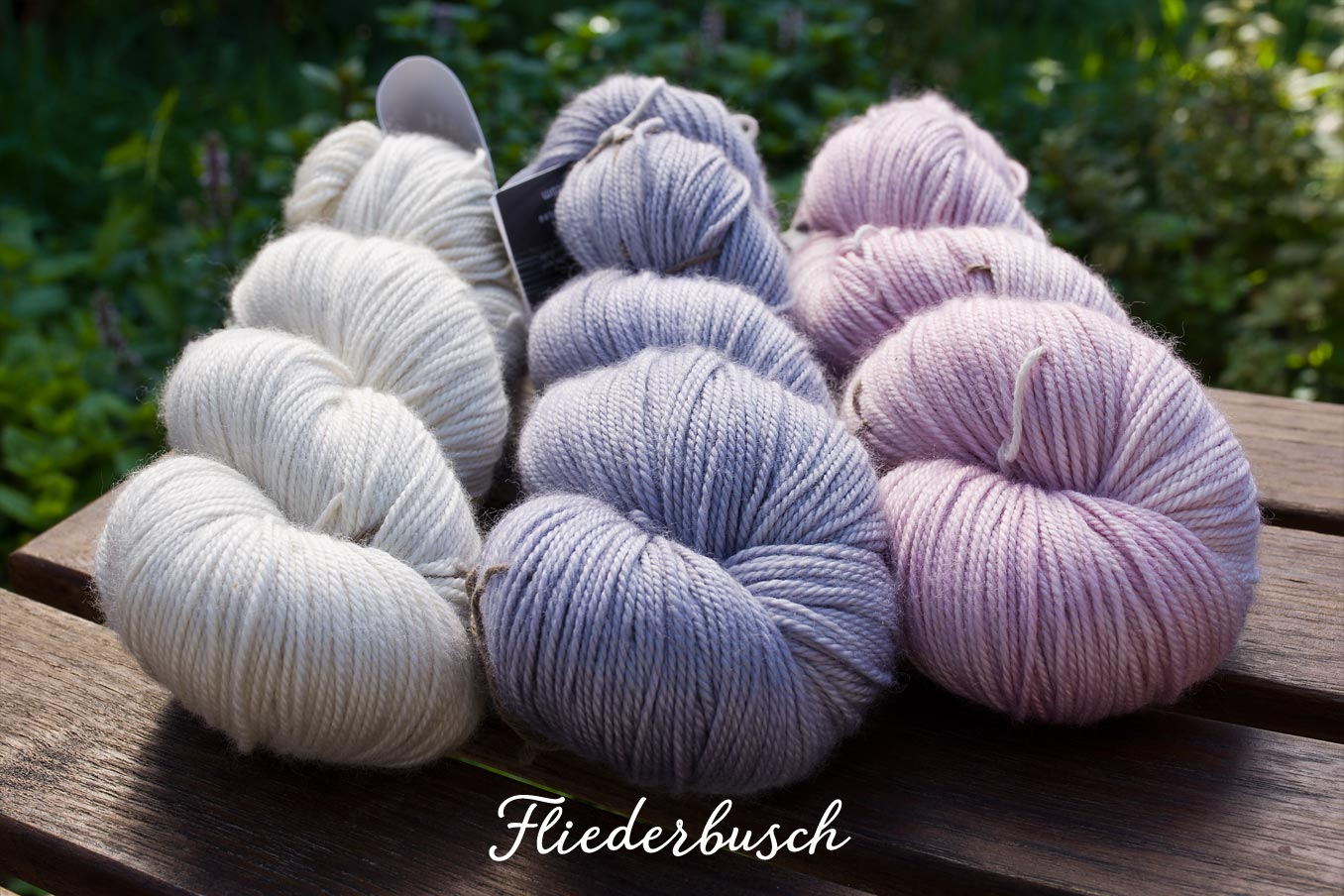 "Bild Gartenblick-Set ""Fliederbusch"""