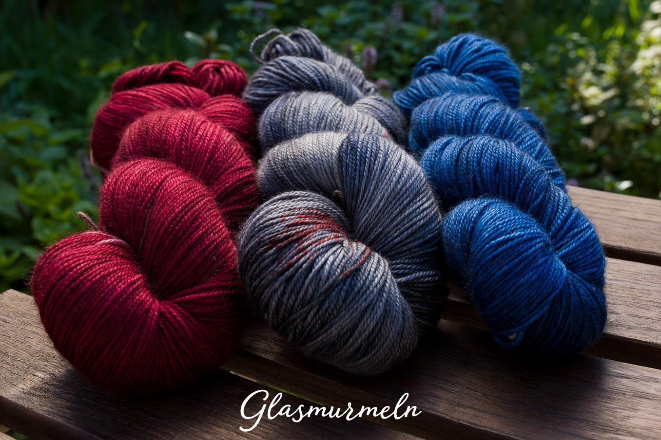 """Bild Gartenblick-Set """"Glasmurmeln"""""""