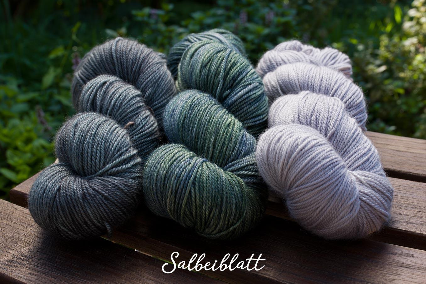 "Bild Gartenblick-Set ""Salbeiblatt"""