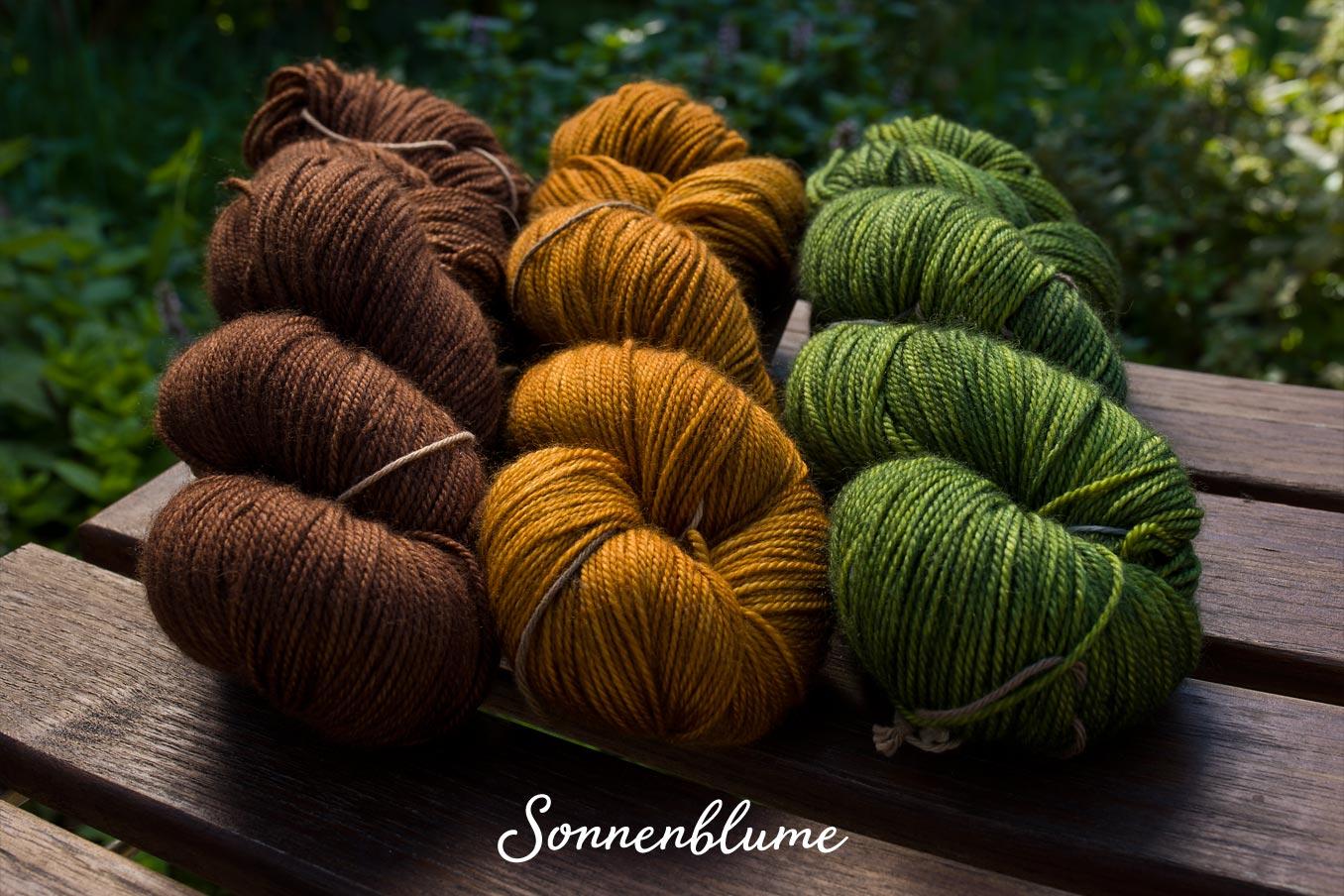 "Bild Gartenblick-Set ""Sonnenblume"""