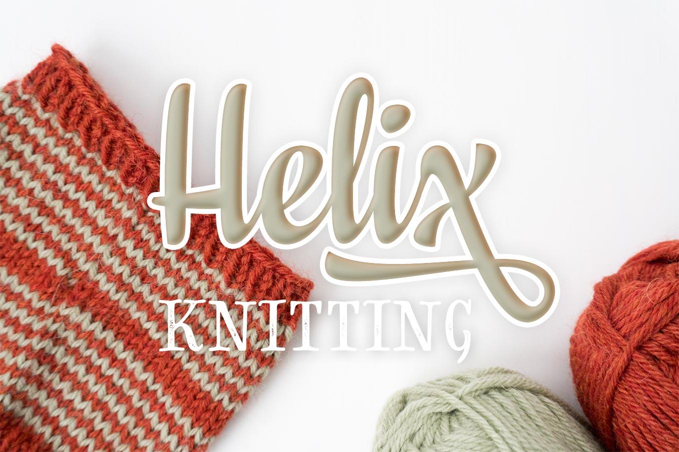 """Bild für Beitrag """"Helix Knitting"""" 1"""