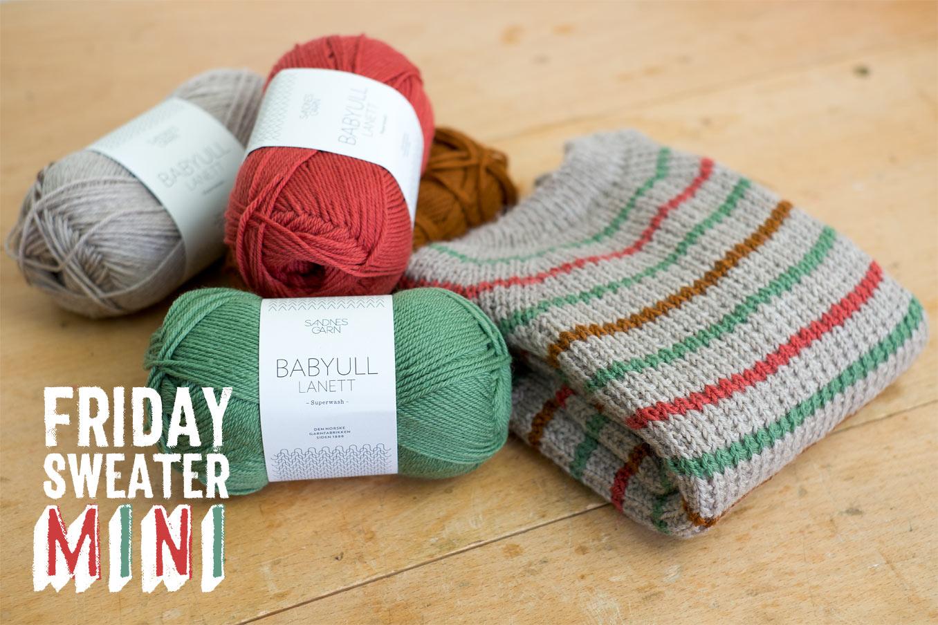 """Bild für Beitrag """"Friday Sweater Mini"""" 1"""