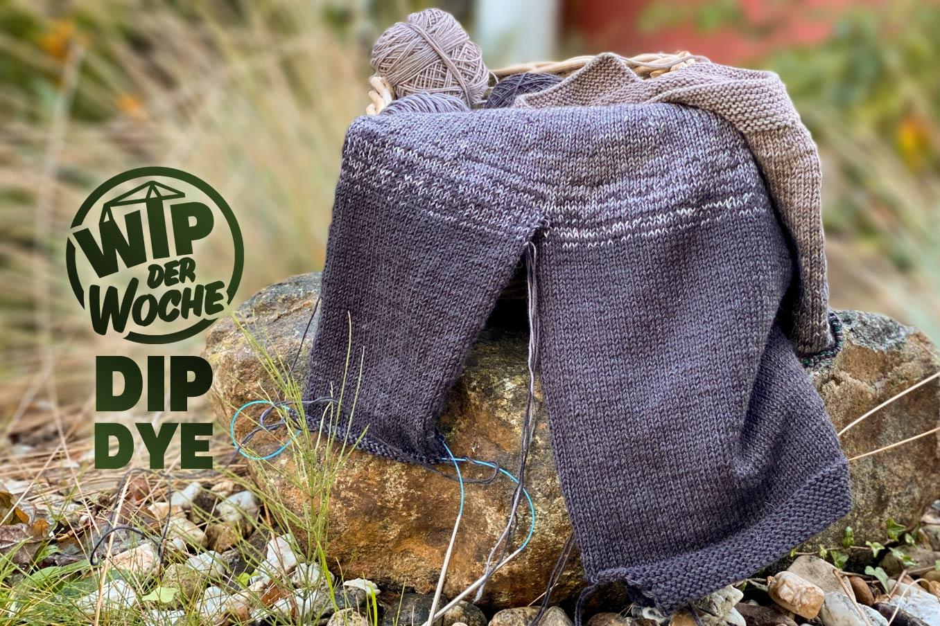 """Bild für Beitrag """"Dip Dye Sweater 2021"""" 1"""
